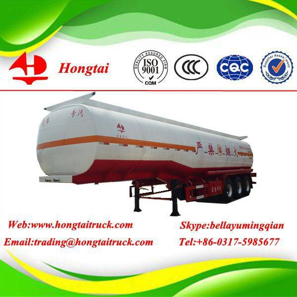 3 axle petrol tanker semi trailer