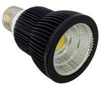 7W LED COB Par20,black color light fixture