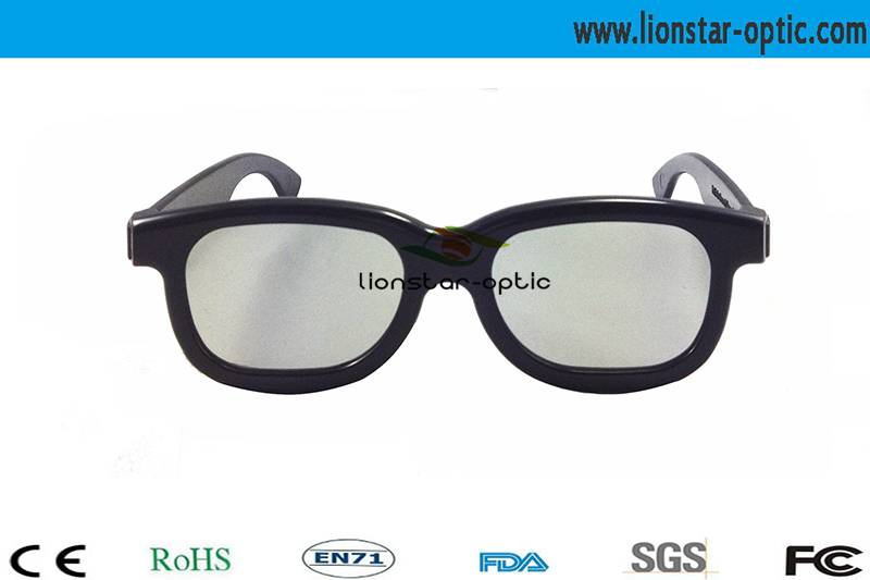 Plastic Chromadepth Polarized 3d glasses LS01CH