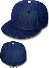 Blank Fitted Hats