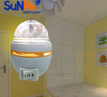3 Switches Home party use Led Night Light with light sensor