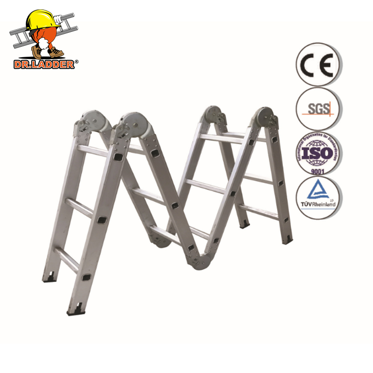 Domestic ladder double side 2 meter herringbone project ladder