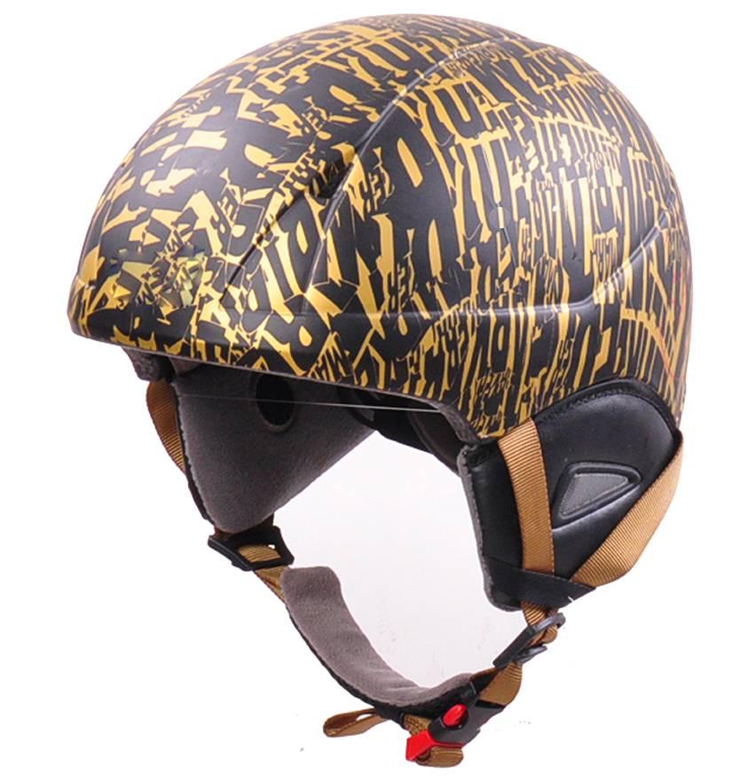 polycarbonate in-mold ski helmet lightweight snowboard helmet AU-S02