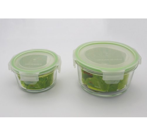 easy lock factory wholesale glass container watertight airtight