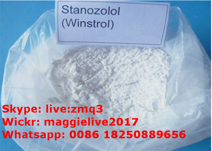 Wholesale Anabolic Cutting Steroid Stanozolol Winstrol CAS 10418-03-8