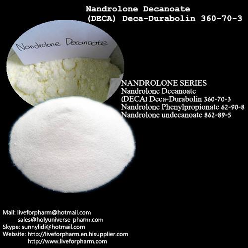 99% Quality Nandrolones Deca/Deca/Raw Material Powder/CAS360-70-3