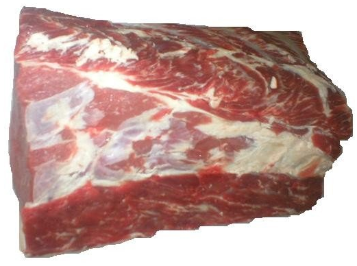 Halal frozen quartered cattle meat cuts
