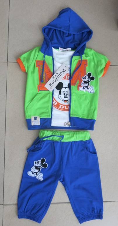 Boy's summer suits,3pcs sets,sport suits