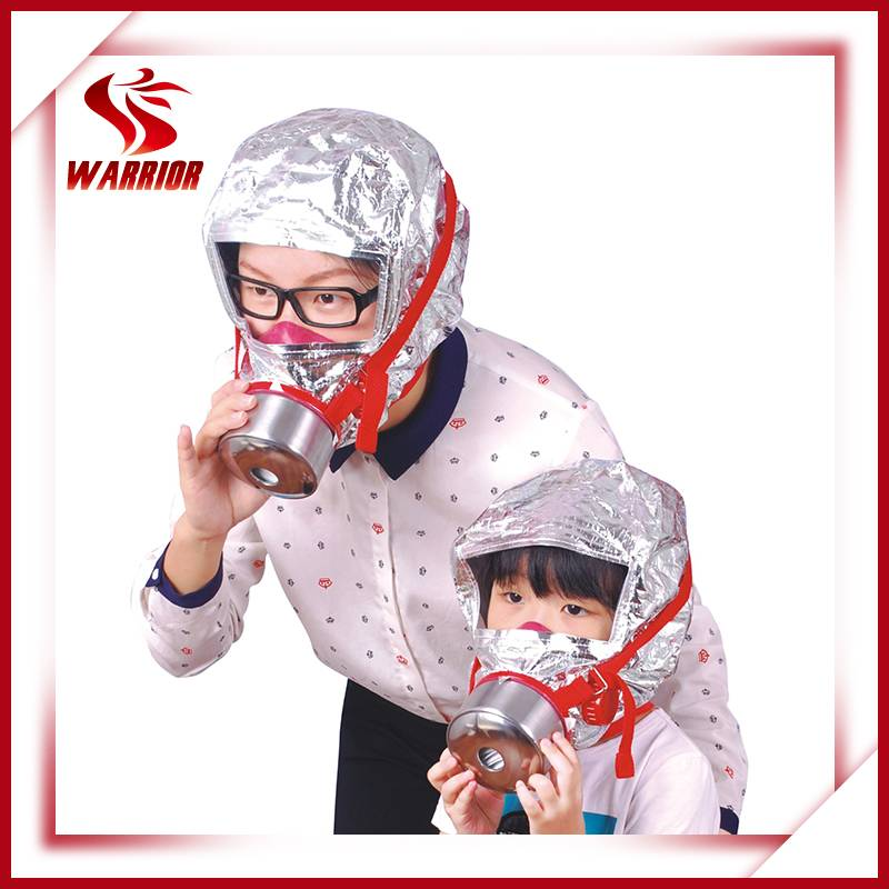 CE Certificate Fire Escape Mask Fire Smoke Hood