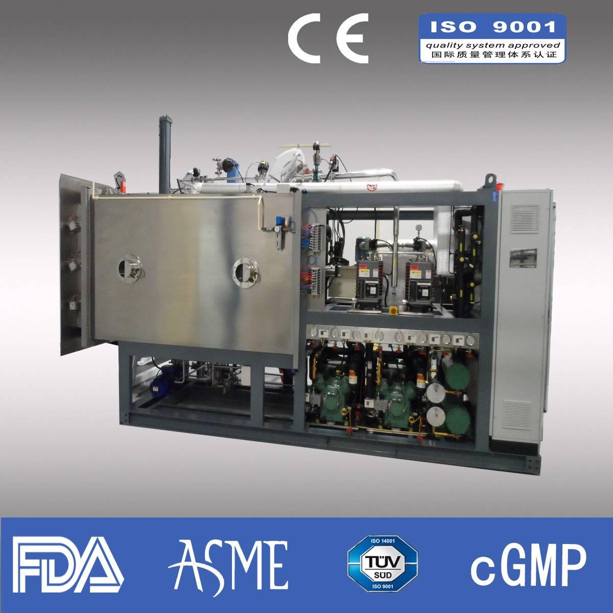 Lyophilizer/ Pharmaceutical lyophilizer/ industrial lyophilizer/Capacity 320kg