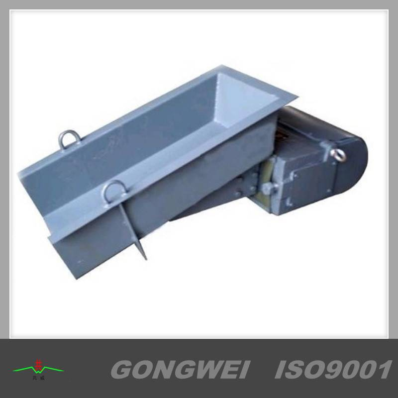 Automatic vibration pan feeder for conveying granules