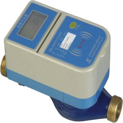 Class C RF Card Water Meter, Prepaid Dn15~40 Water Meter, Slot Card Water Meter