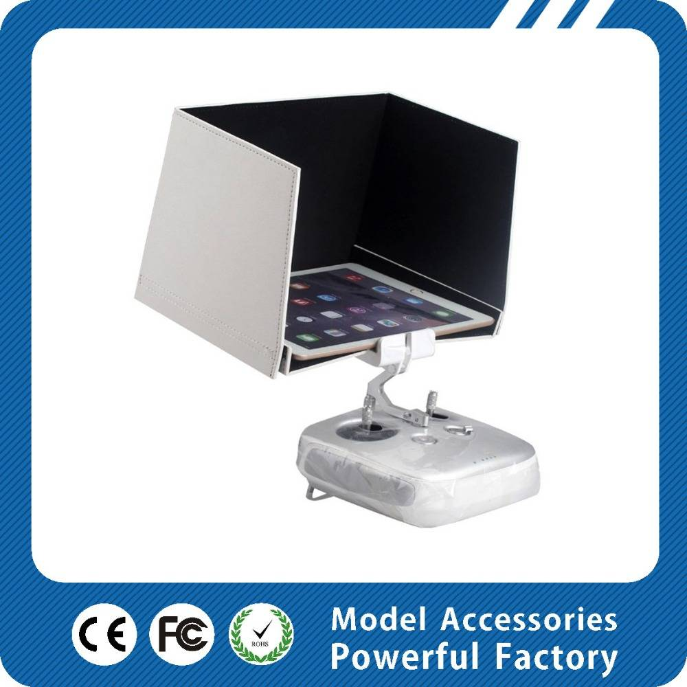 9.7inch DJI New cheapest panel FPV monitor with AV input and foldable FPV LCD Monitor with Sun Hood