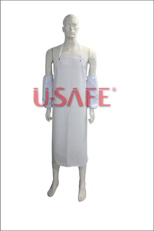 TPU waterproof industrial apron kitchen apron washable apron