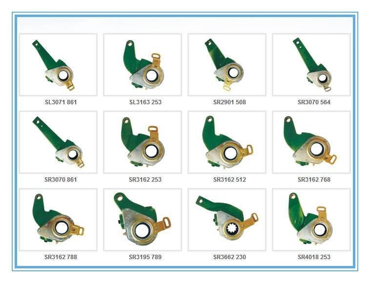 Semi-trailer parts of slack adjuster
