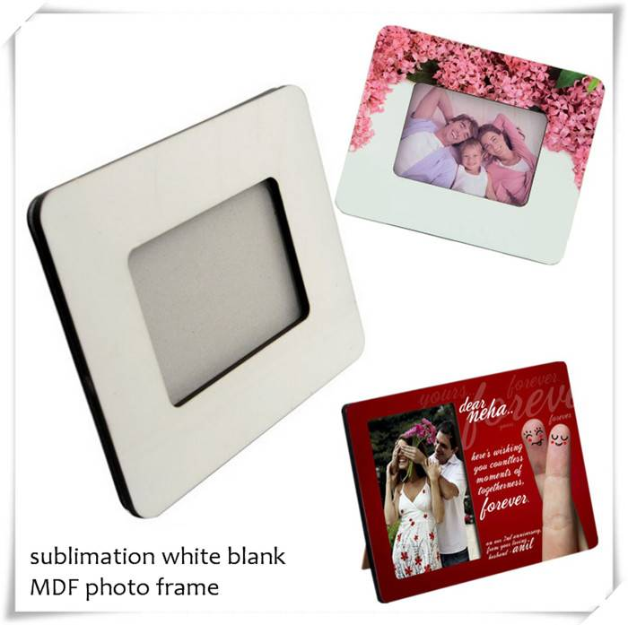 MDF blanks photo frames for sublimation printing