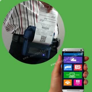 80mm receipt printer mobile
