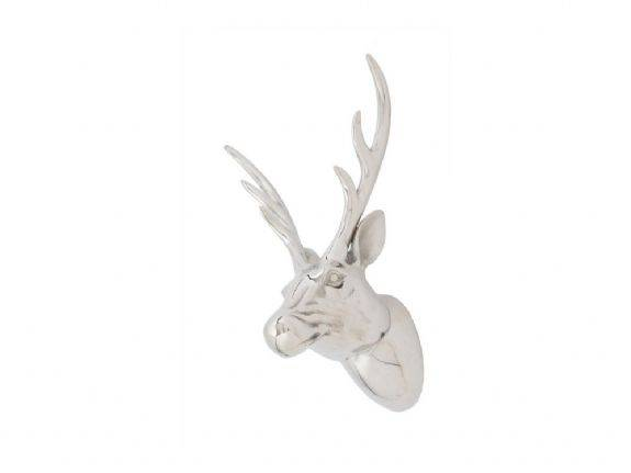 GARDEN ANIMALS AN1001 STAG HEAD WALL SCULPTURE