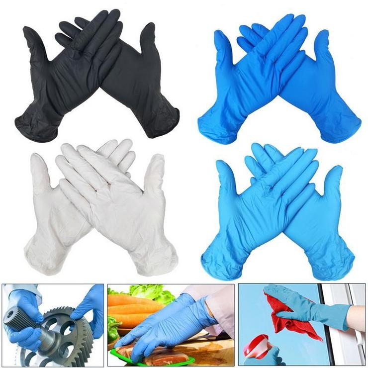 Factory Manufacture Medical Non-Medical Examination Disposable Nitrile Glove Latex Vinyl PE Gloves