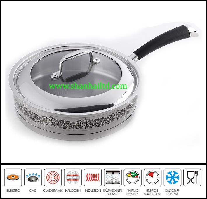2015 new products japanese fry pan