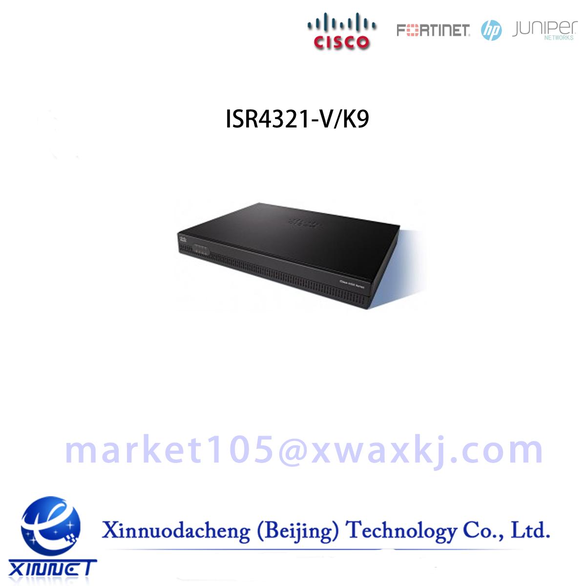 ISR4321-V/K9 Cisco ISR 4321 Bundle, w/UC License, CUBE-10
