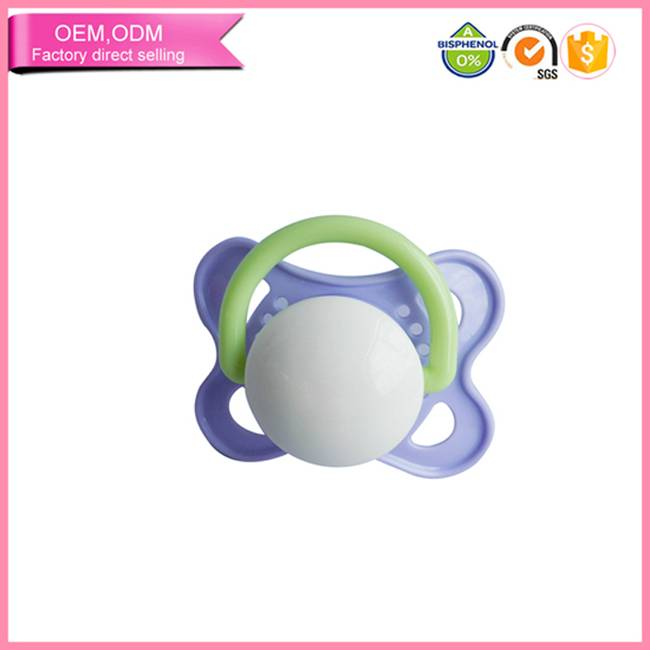 wholesale food grade silicone baby soother pacifier