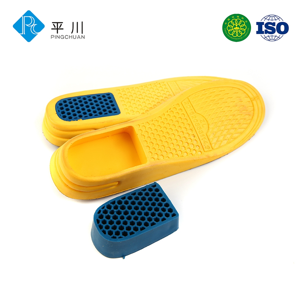 Patented height increase insoles for elevator shoes