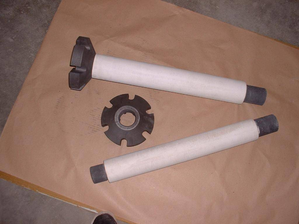 Graphite Rotor for for Aluminum Purify