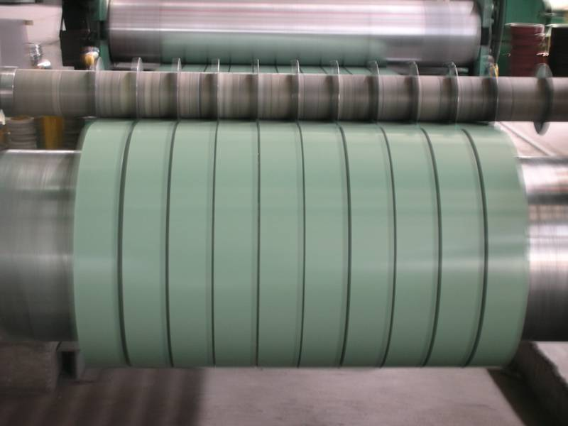 ISO high quality PPGI prepainted galvanized steel strip