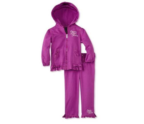 Baby-Girl's Infant Hooded Pant Set Clothes autumn clothing sportwear