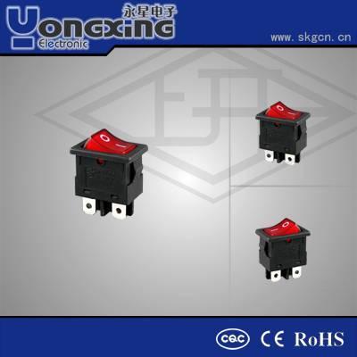 KCD 12v rocker switch with white housing /mini rocker switch