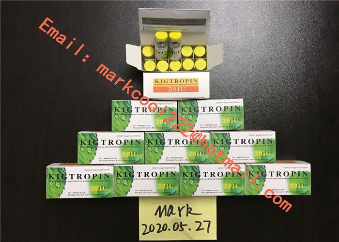 USP Standard Anti Aging Peptides Kigtropin In White Freezed Powder 100iu/Kit For Big Muscle