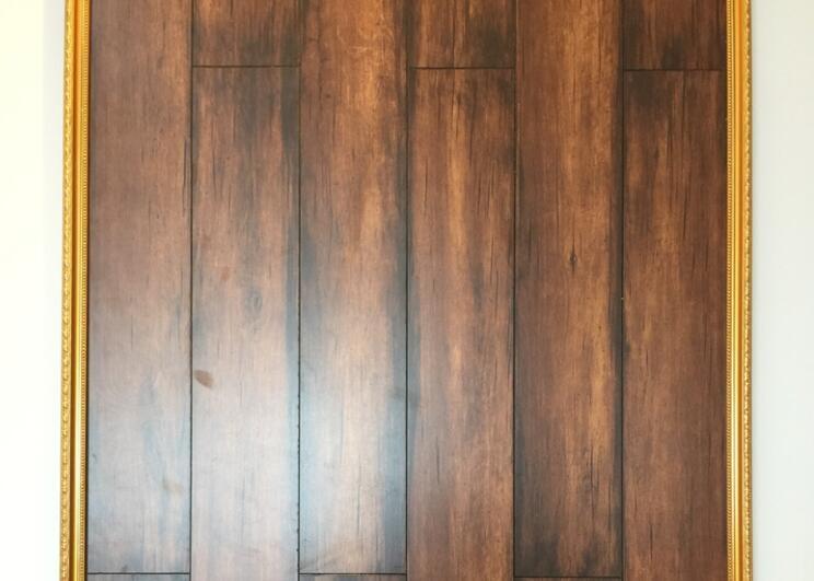 MZ-2017 Burning series Laminate Flooring V-groove HDF