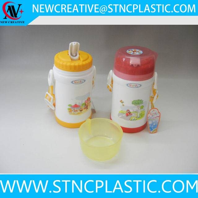 450ML cartoon plastic children water bottle for school