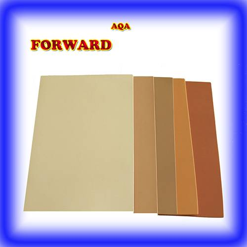 high quality beige color rubber sheet for shoe outsoles