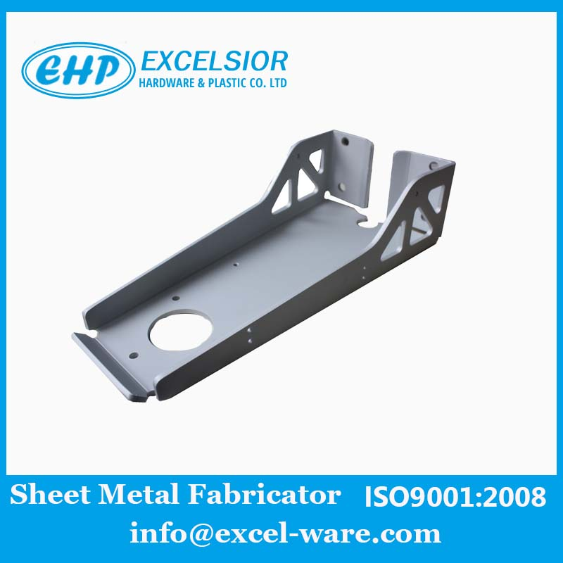 Clear Anodized Aluminum Metal Bracket