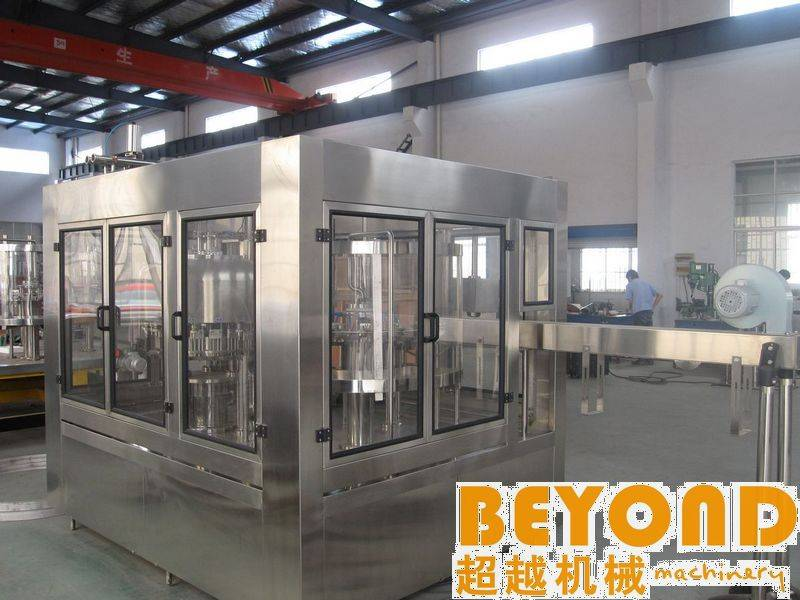3-in-1 Automatic Pure Water Bottling Plant
