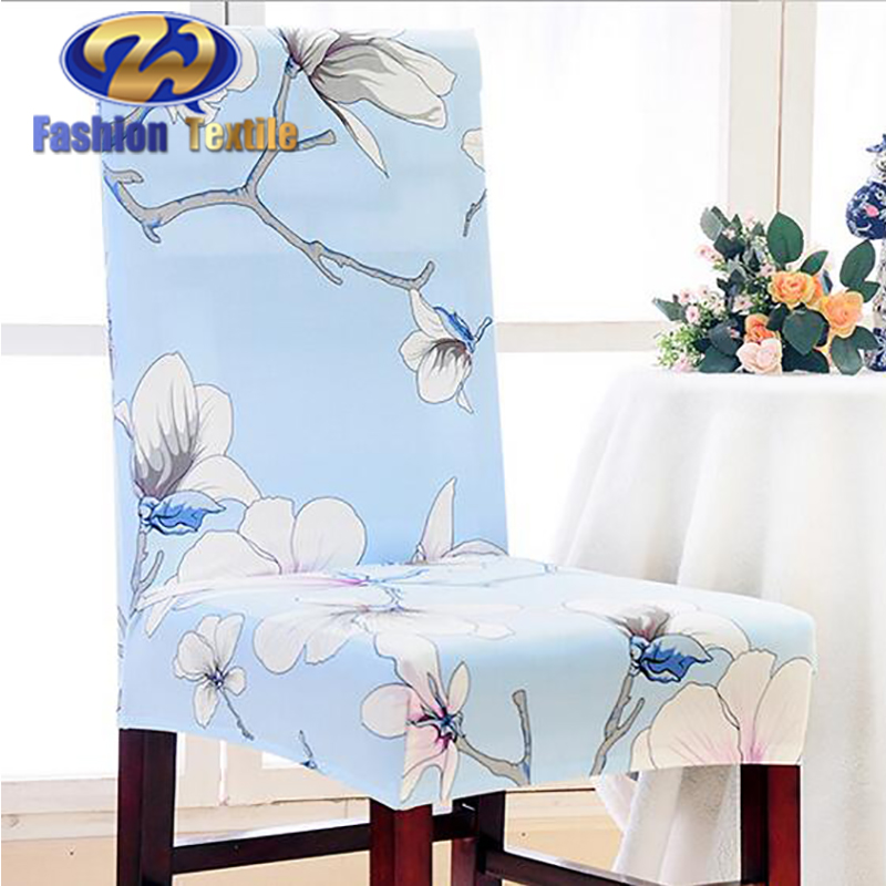 Elegant satin office chair seat cover