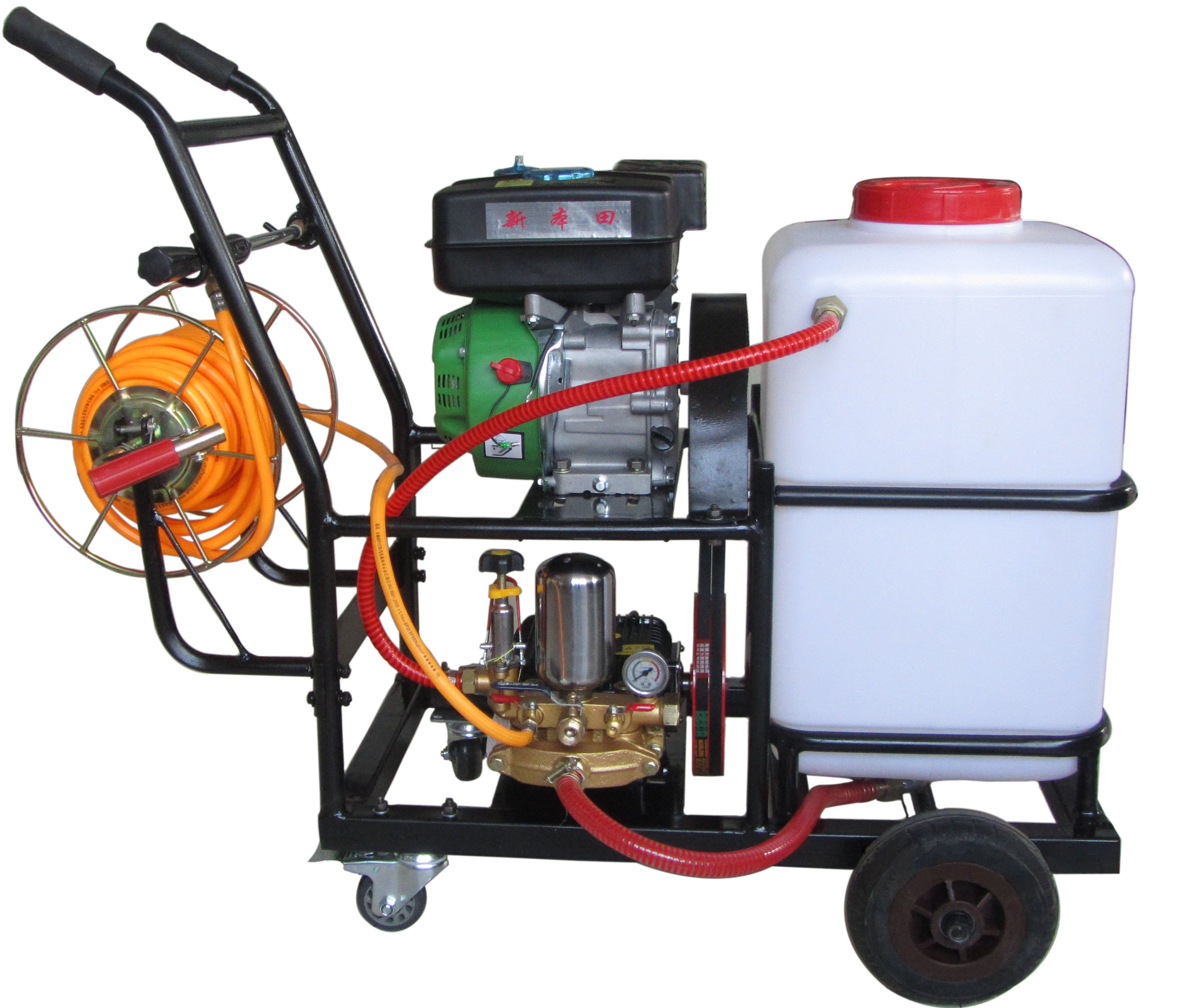 Electric Power Sprayer with Trolley