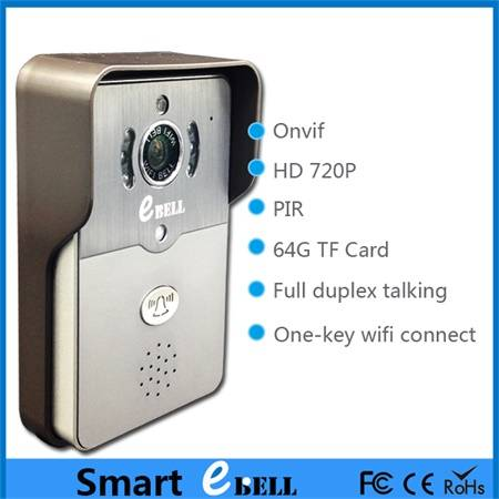 2015 new products hot sell waterproof design wireless doorbell with IP65 doorbell