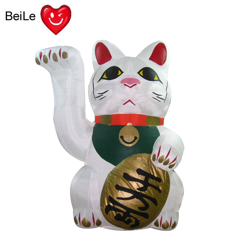Promotion advertising model giant inflatable lucky cat