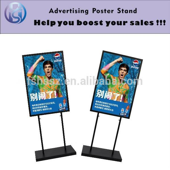 Outdoor display standing advertising sign stand HS-H25
