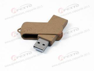 Recycle plastic usb flash drive