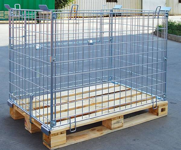 Galvanised Wire Welded Mesh Containers
