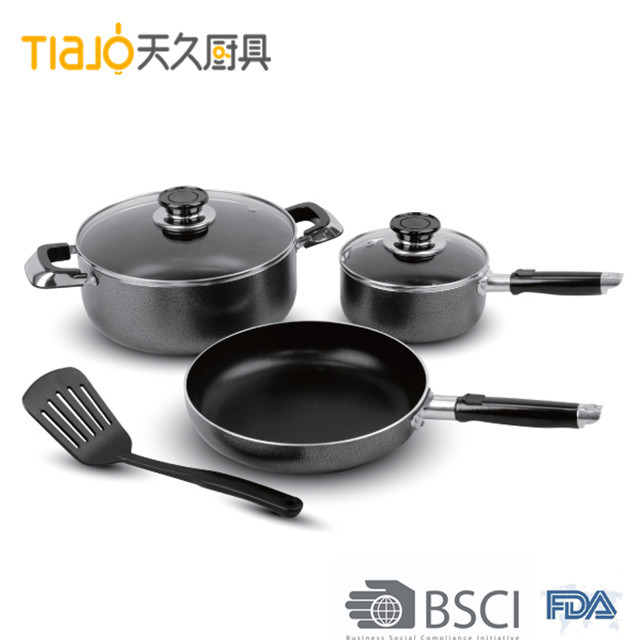 Professional Production Energy-Saving Exquisite Cooking Saucepan/Casserole/ Cooking Pot cookware set
