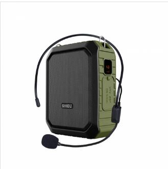 M800 IPX4 Waterproof Voice Amplifier with 4000mah Power Bank and Bluetooth Speaker