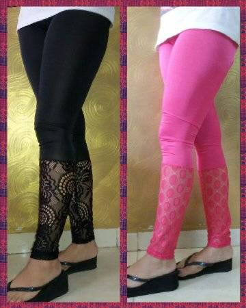 Cotton Lycra Legging, Designer Leggings,   Fancy Leggings, Embroidery Leggings. Patch Work Leggings,