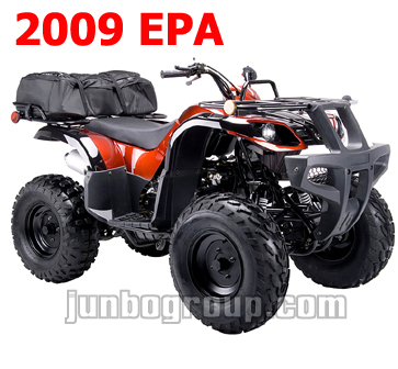 ATV 150cc with CVT System for 2009 EPA