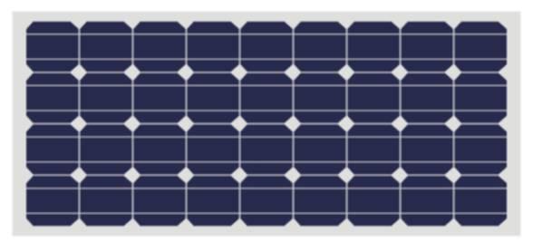 Mono-crystalline Solar Panel(155W, 160W, 165W, 170W, 175W, 180W, 185W)