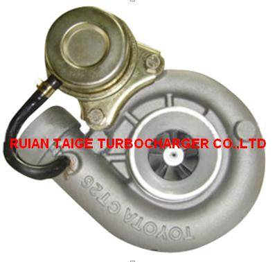 high quality of turbocharger 17201-42020 for Toyota
